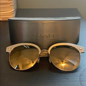 Oliver people's sunglasses gray mirror